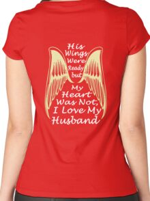 I Love My Husband Women's Fitted Scoop T-Shirt