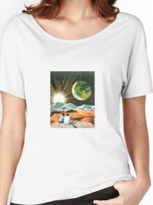 Another Earth Women's Relaxed Fit T-Shirt