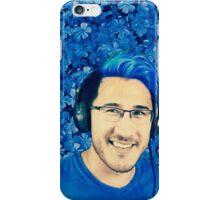 Markiplier- Blue Flowers iPhone Case/Skin