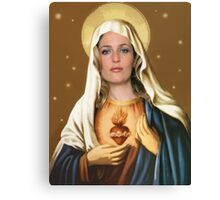 Holy Gillian Canvas Print