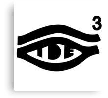 TDE Hiii Power Logo 3 Canvas Print