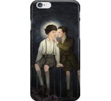 Teenlock  - Jim & Sherlock iPhone Case/Skin