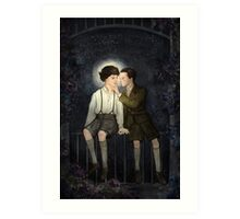 Teenlock  - Jim & Sherlock Art Print