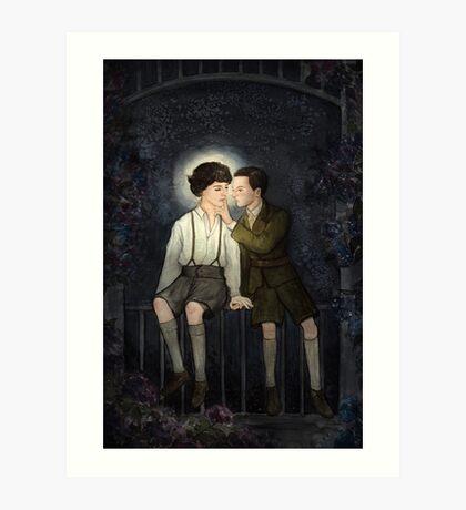 Teenlock  - Jim & Sherlock Art Print