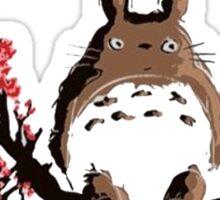 totoro sakura Sticker