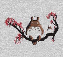 totoro sakura Baby Tee
