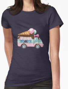 Sweet Foodtruck Womens Fitted T-Shirt