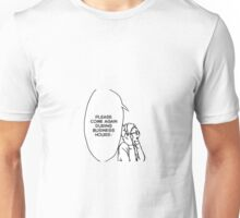 Please Come Again During Business Hours - Tsukki Unisex T-Shirt