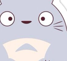 totoro funny ghost Sticker