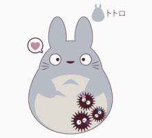 totoro funny ghost One Piece - Short Sleeve