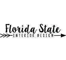 FSU-Interior Design with Arrow Photographic Print