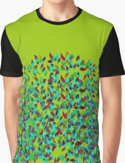 Victoria Floral green brand pattern  Graphic T-Shirt
