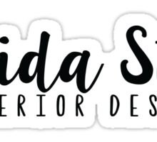 FSU-Interior Design Sticker