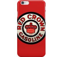 red Crown Gasoline iPhone Case/Skin