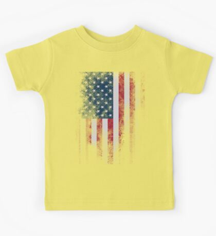 USA America Flag Kids Tee