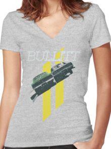 Bullitt Women's Fitted V-Neck T-Shirt