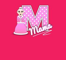 'M' is for Mama! Womens Fitted T-Shirt