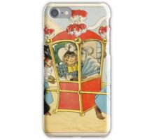 Meggendorfer, Lothar. Living charade. A drawing picture book. With chromolithogr iPhone Case/Skin