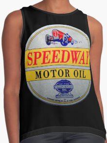 Speedway motor oil Contrast Tank