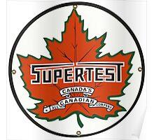 Supertest motor oil - Canada Poster