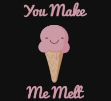 You Make Me Melt One Piece - Short Sleeve
