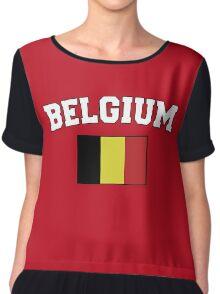 Belgium Team Chiffon Top
