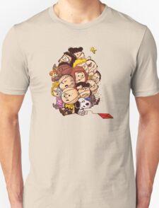 bond in kyte snoopy peanut Unisex T-Shirt