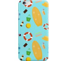 The summer is here! It's time for the beach! iPhone Case/Skin