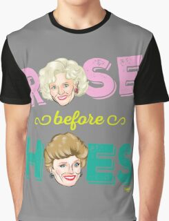 ROSE BEFORE HOES Graphic T-Shirt