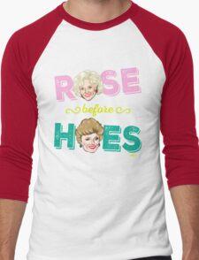 ROSE BEFORE HOES Men's Baseball ¾ T-Shirt
