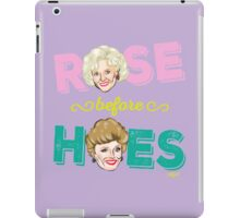 ROSE BEFORE HOES iPad Case/Skin