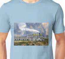 An Early American Steam Locomotive Unisex T-Shirt