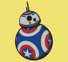Captain Ameribot Kids Tee