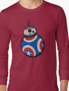 Captain Ameribot Long Sleeve T-Shirt