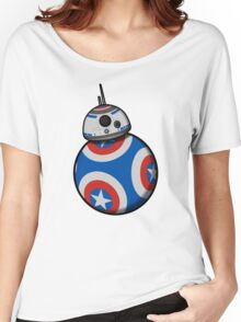 Captain Ameribot Women's Relaxed Fit T-Shirt