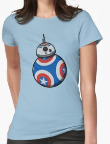 Captain Ameribot Womens Fitted T-Shirt