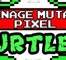 Teenage Mutant Pixel Turtles Sticker