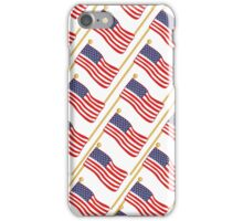 USA Patriotic American Flags iPhone Case/Skin