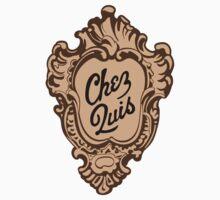 """Chez Quis"" Restaurant Logo - as seen on ""Ferris Bueller's Day Off"" by vertigocreative"