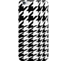 Houndstooth Pattern iPhone Case/Skin