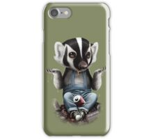 HONEY BADGER TAKES ALL iPhone Case/Skin