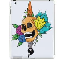Blooming Skull and Brush iPad Case/Skin