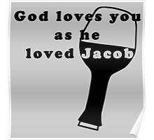 God loves Jacob - LOST series Poster