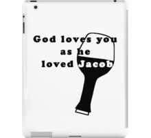 God loves Jacob - LOST series iPad Case/Skin