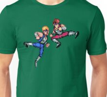 Double Dragon Jump Kicks Unisex T-Shirt