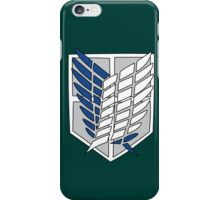Attack on Titan - Wings of Freedom iPhone Case/Skin