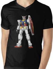RX 78-2 Mens V-Neck T-Shirt