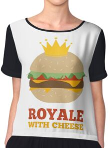 Royale With Cheese Chiffon Top