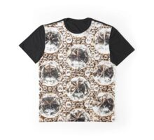 Cut Glass Crystal Beads Graphic T-Shirt