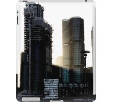 Sydney Town in the Morning iPad Case/Skin